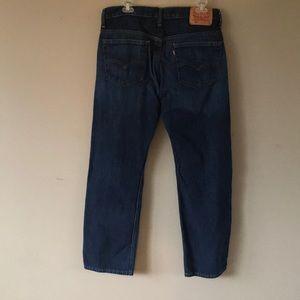 Men's Levis 569 Jeans size 32w 32l